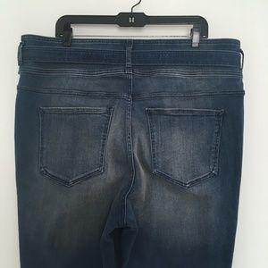 Express Jeans - Express Super High Rise Ankle Legging 18L